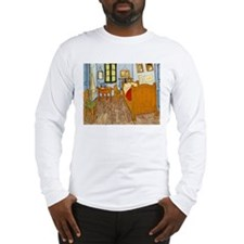 Bedroom at Arles Long Sleeve T-Shirt