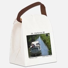 sthelena3tshirt.png Canvas Lunch Bag