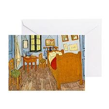 Bedroom at Arles Greeting Cards (Pk of 10)