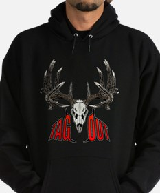 Tag Out whitetail Hoodie (dark)