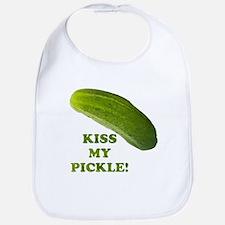 Kiss My Pickle! Bib