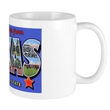 Texas Greetings Coffee Mug