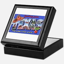 Texas Greetings Keepsake Box