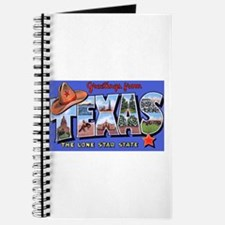 Texas Greetings Journal