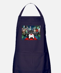 Sir Cuba of Chelsea in Times Square NYC Apron (dar