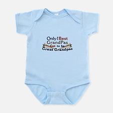 The Best Great Grandpas Infant Bodysuit