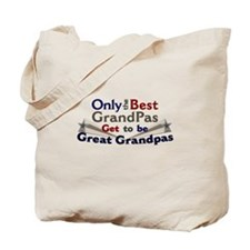 The Best Great Grandpas Tote Bag