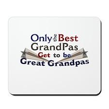 The Best Great Grandpas Mousepad