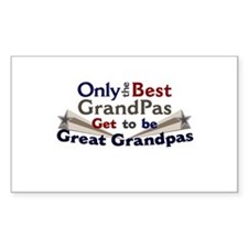 The Best Great Grandpas Decal