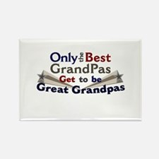 The Best Great Grandpas Rectangle Magnet