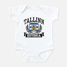 Tallinn Estonia Infant Bodysuit