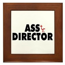 Ass+t Director Framed Tile