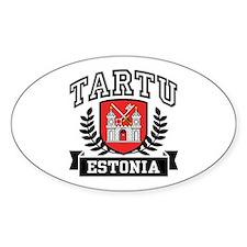 Tartu Estonia Decal