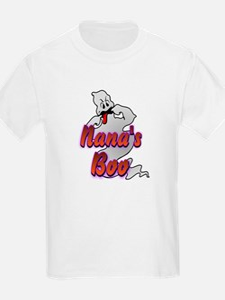 Nana's Boo Halloween Ghost T-Shirt