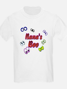 Nana's Boo Halloween Eyes T-Shirt