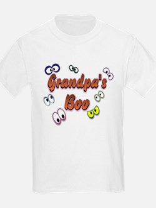Grandpa's Boo Halloween Eyes T-Shirt