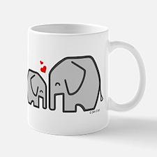 Elephants (4) Mug