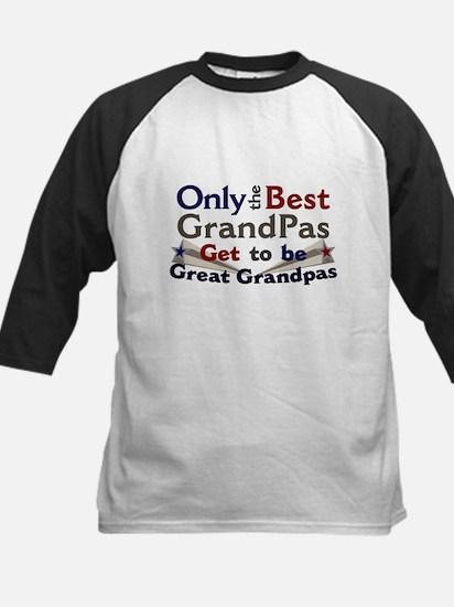 Best Great Grandpa 2 Kids Baseball Jersey