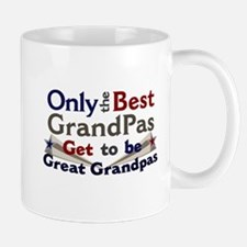 Best Great Grandpa 2 Small Small Mug