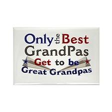 Best Great Grandpa 2 Rectangle Magnet