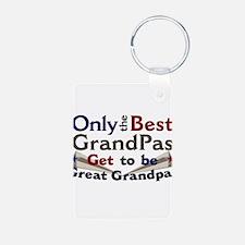 Best Great Grandpa 2 Keychains