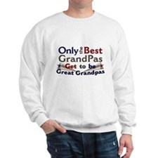 Best Great Grandpa 2 Sweatshirt