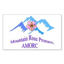 Mountain Rose Pronaos Decal