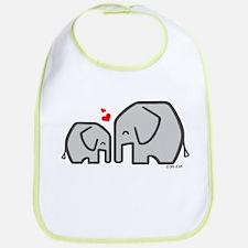 Elephants (4) Bib