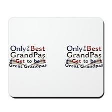 Best Great Grandpa Double Mousepad