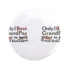"Best Great Grandpa Double 3.5"" Button"