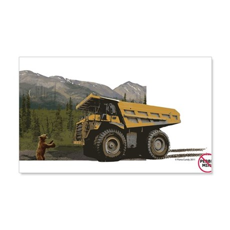 Bear Hold Up (Anti-Pebble Mine Campaign) 20x12 Wal