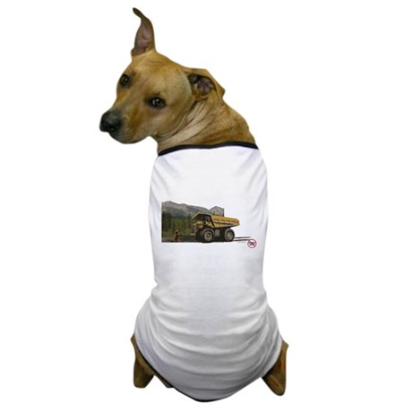 Bear Hold Up (Anti-Pebble Mine Campaign) Dog T-Shi