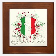 Italian pride Framed Tile