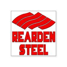 """Rearden Steel Square Sticker 3"""" x 3"""""""