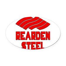 Rearden Steel Oval Car Magnet