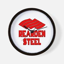 Rearden Steel Wall Clock