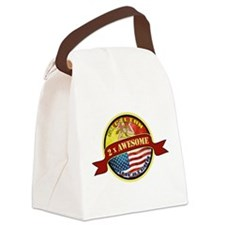 Sicilian American 2 x Awesome Canvas Lunch Bag
