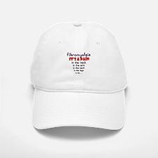 Fibromyalgia Its a Pain Baseball Baseball Cap