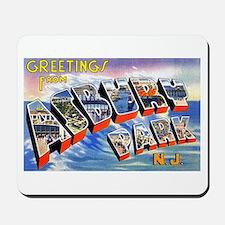 Asbury Park Greetings Mousepad