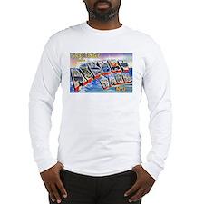 Asbury Park Greetings (Front) Long Sleeve T-Shirt