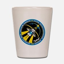 STS-131 Shot Glass