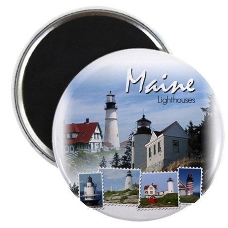Maine Lighthouses Magnet
