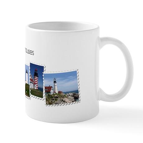 Maine Lighthouses Mug