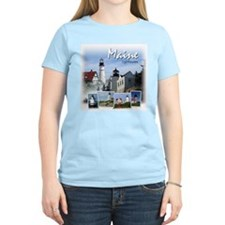 Maine Lighthouses Women's T-Shirt