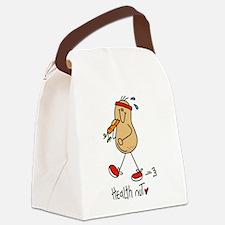 Health Nut Canvas Lunch Bag