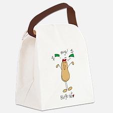 Bingo Nut Canvas Lunch Bag