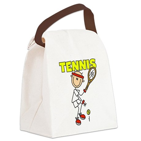 GUYSTENNIS.png Canvas Lunch Bag