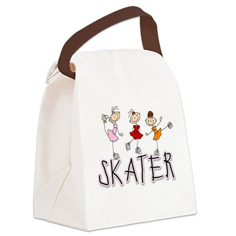 skatergirltee.png Canvas Lunch Bag