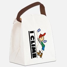 ICLIMBSTICK.png Canvas Lunch Bag