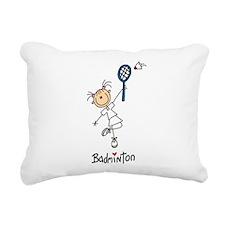 GIRLSBADMINGONTDAR.png Rectangular Canvas Pillow